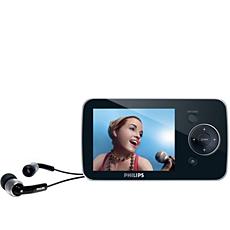 SA5225/02  Přenosný videopřehrávač