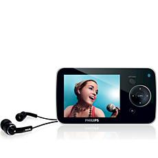 SA5285BT/97  Flash audio video player