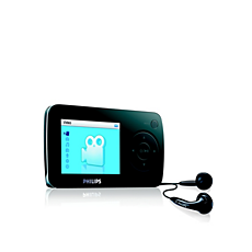 SA6014/02  Flash audio video player