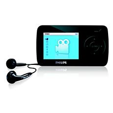 SA6025/97 -    Portable video player