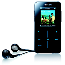SA9100/00 -    Odtwarzacz audio z pamięcią flash