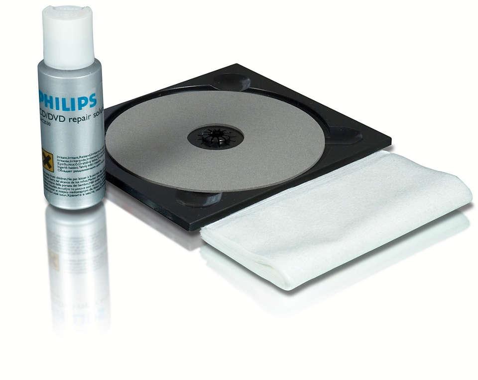 Repair your discs