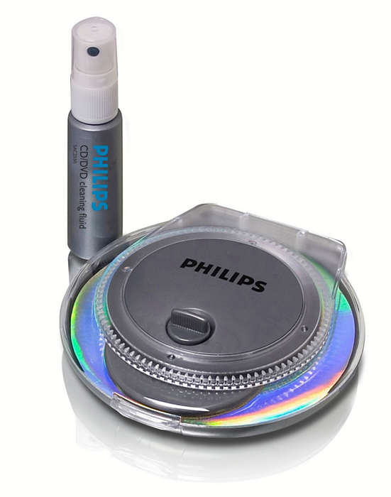 Καθαρίστε και προστατέψτε τους δίσκους σας