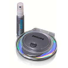 SAC2540/10  Limpiador radial de CD/DVD