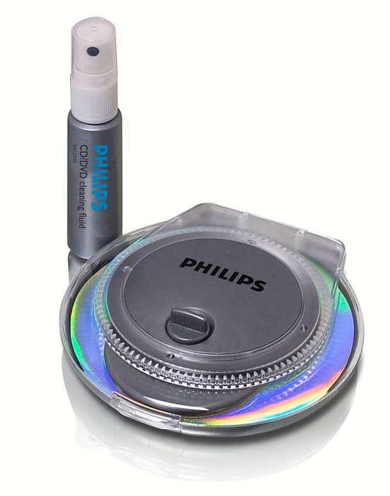 Pulisci e proteggi i tuoi dischi