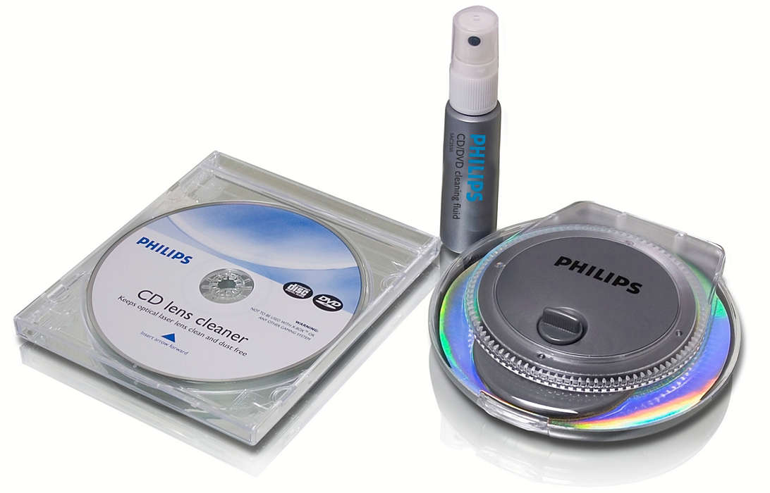 All you need to clean CD/DVD