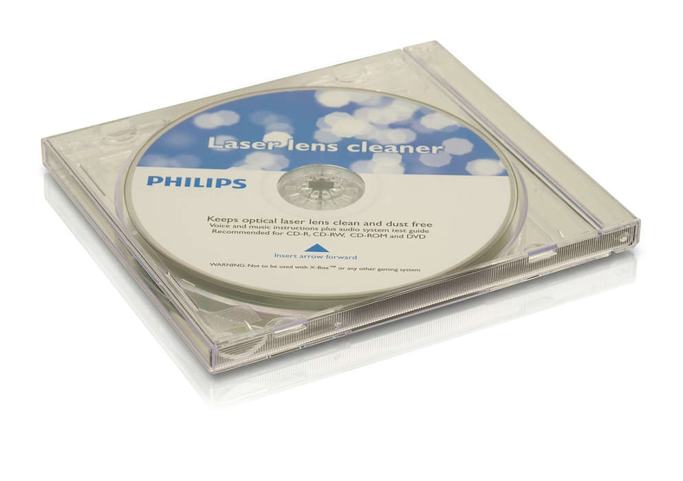 Pulisce e protegge i lettori CD e DVD