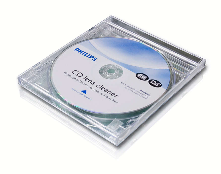Clean and protect your CD and DVD player