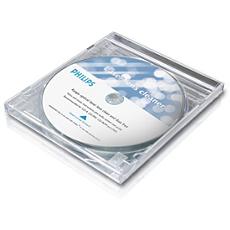 SAC2561W/27  Limpiador de lentes de CD