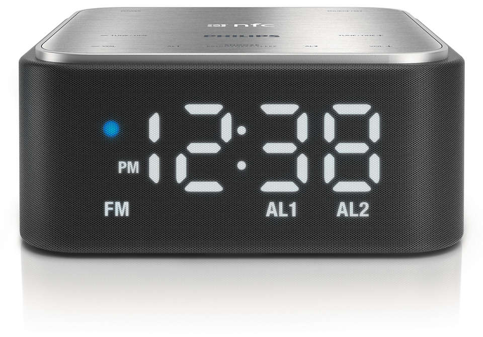 Clock radio for your smartphone
