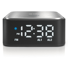 SB170/37 -    Bluetooth speaker with clock radio