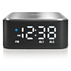 Bluetooth speaker with clock radio