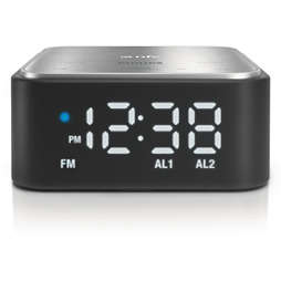 Bluetooth speaker with clock radio