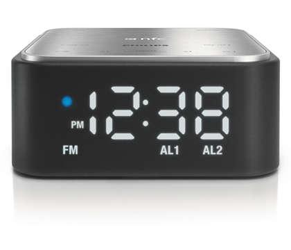 Clock radio for your smartphone