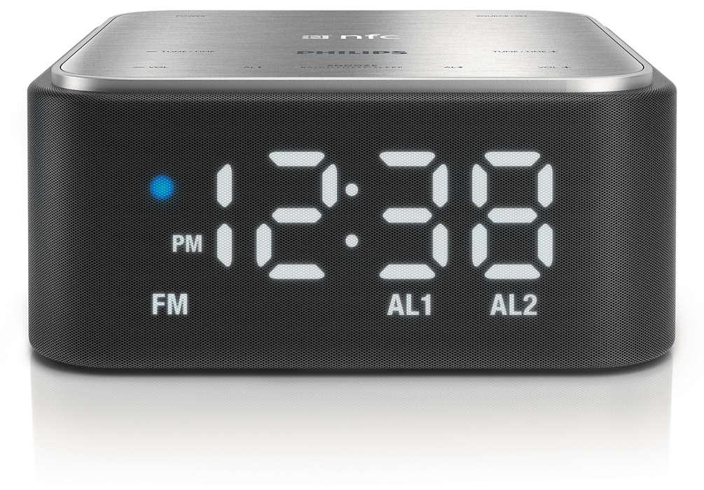 Radioréveil pour votre téléphone intelligent
