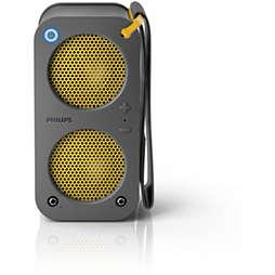 Tragbarer Bluetooth-Lautsprecher mit Akku