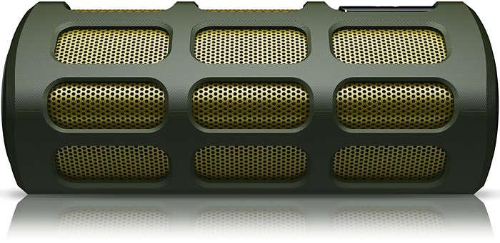 Audio di grande potenza, incredibilmente nitido