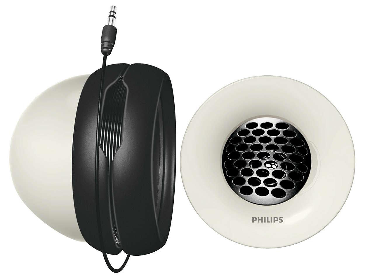 Bærbart høyttalersystem SBA150000 | Philips