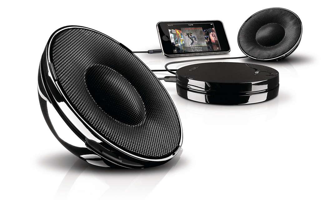 Amplificaţi-vă muzica
