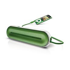 SBA1600GRN/00  MP3 portable speaker