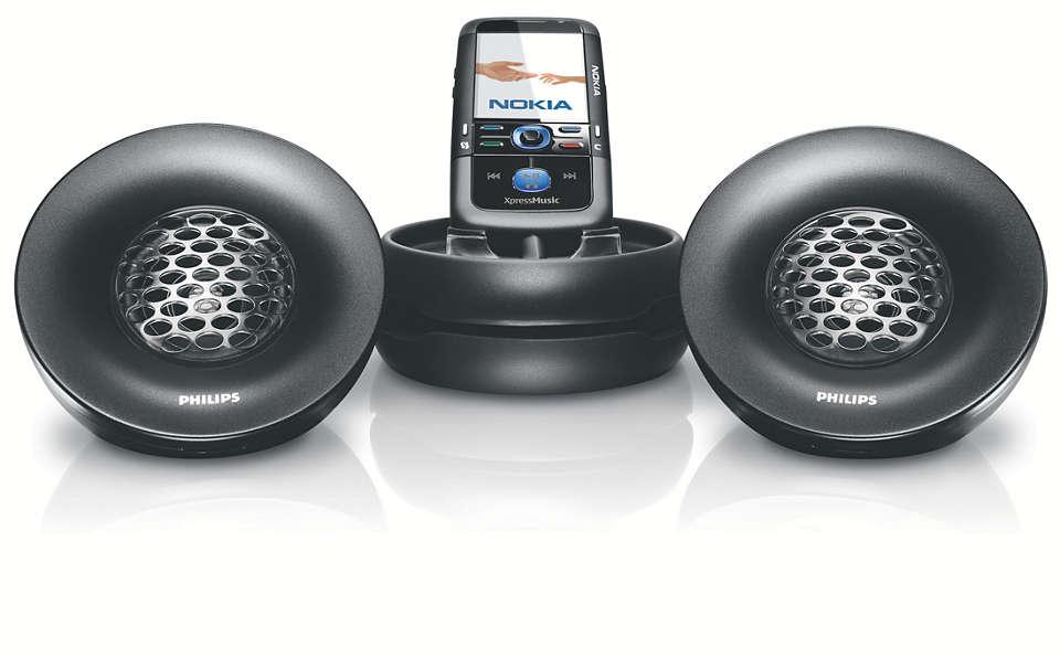 Výkonný stereofonní ozvučovací systém