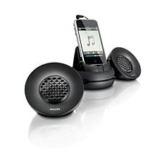 SBA1620/10  Nešiojama garsiakalbių sistema