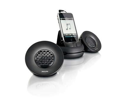 Draagbare luidsprekers voor de iPhone