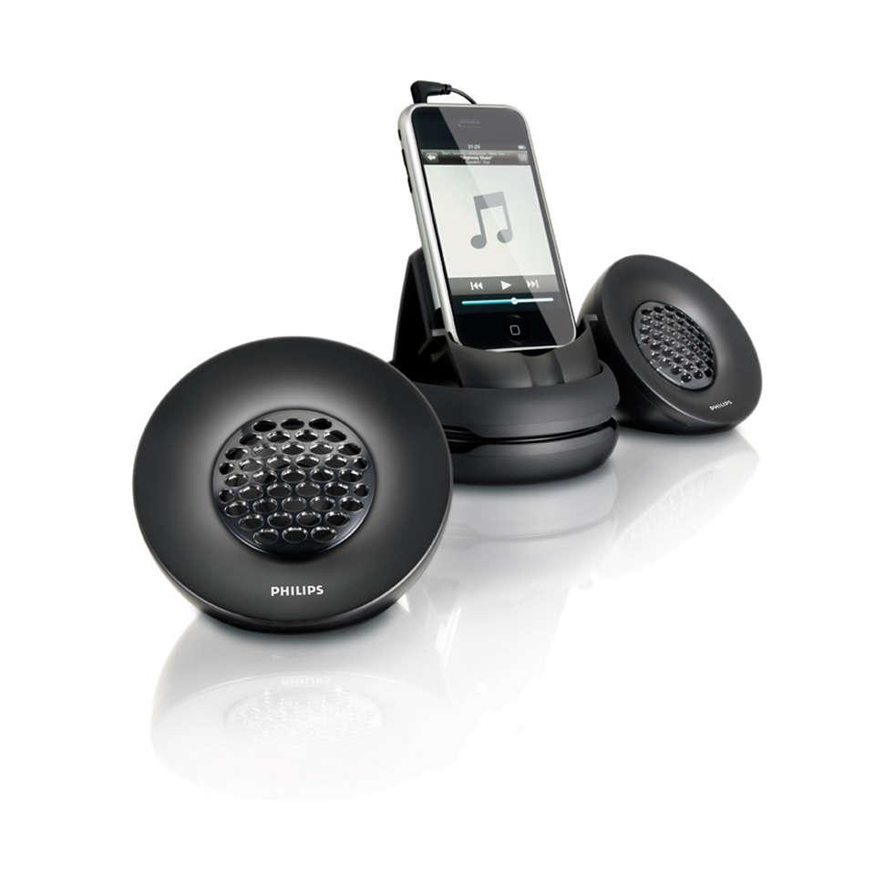 Przenośne głośniki do telefonu iPhone