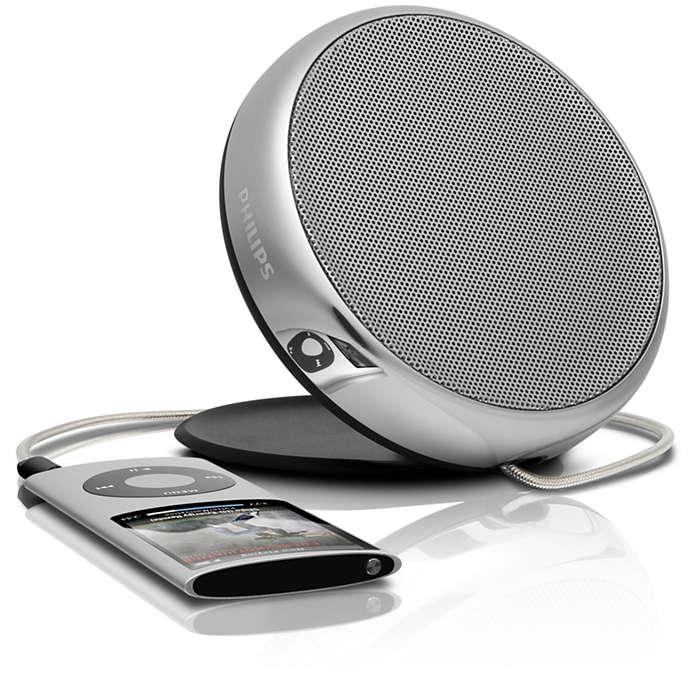 Imponerende lyd og stilig design