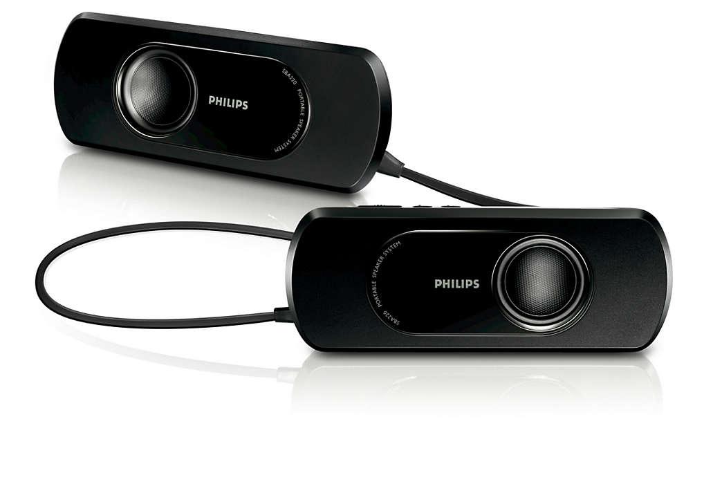 Qualità audio estrema 2 x 2W