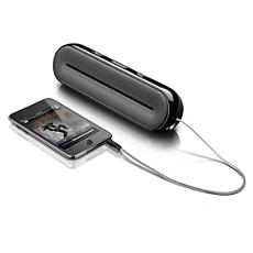 SBA3000/00 -    Przenośny głośnik dla odtwarzaczy MP3