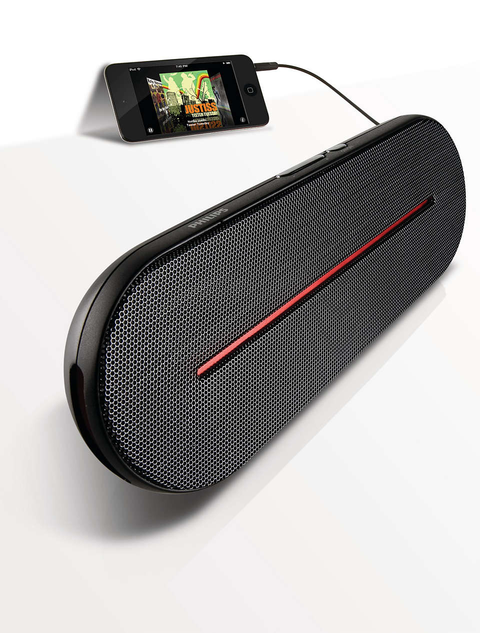 Portable, high-quality stereo sound