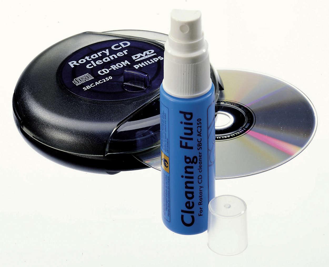 Maakt schoon en beschermt