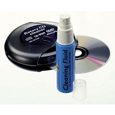 SBCAC250/00 -    CD/DVD 徑向清潔組
