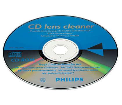 Pulisci e proteggi il tuo lettore CD