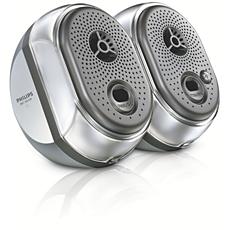 SBCBA109/00  Draagbaar luidsprekersysteem