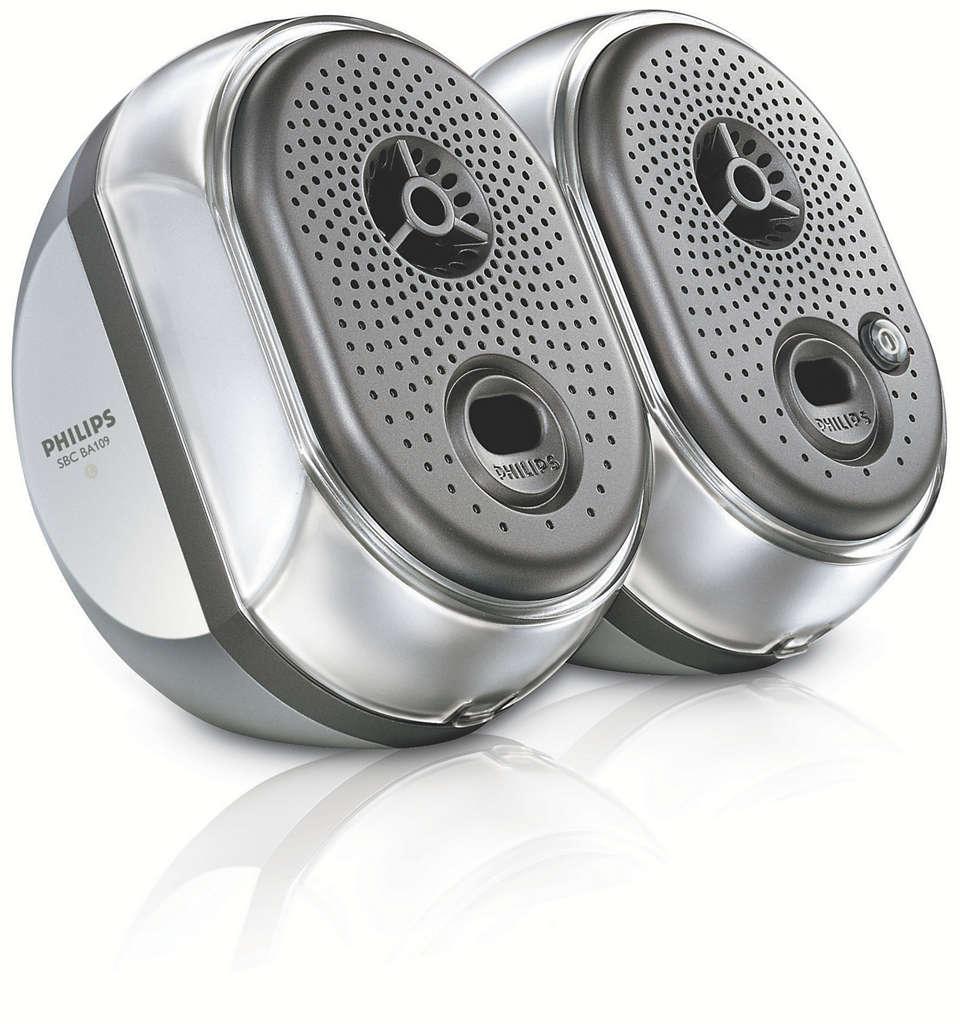 Bærbart høyttalersystem SBCBA10900 | Philips
