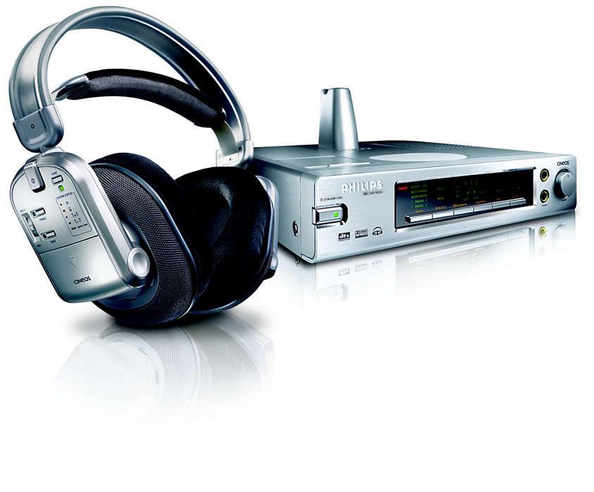 Váš osobní prostorový digitální zvuk