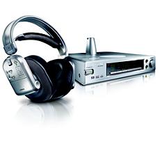 SBCHD1500U/00  Digitální bezdrátová sluchátka