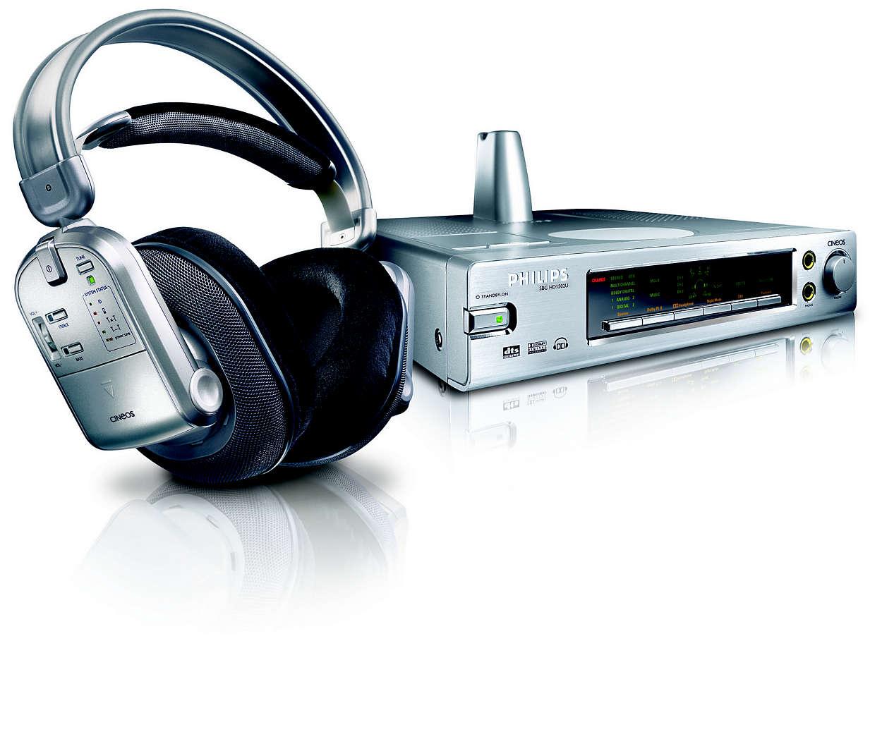 Uw persoonlijke digitale Surround Sound