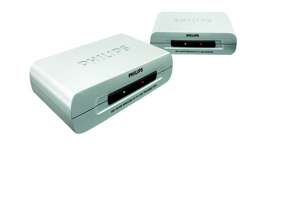 PC und Fernseher kabellos miteinander verbinden