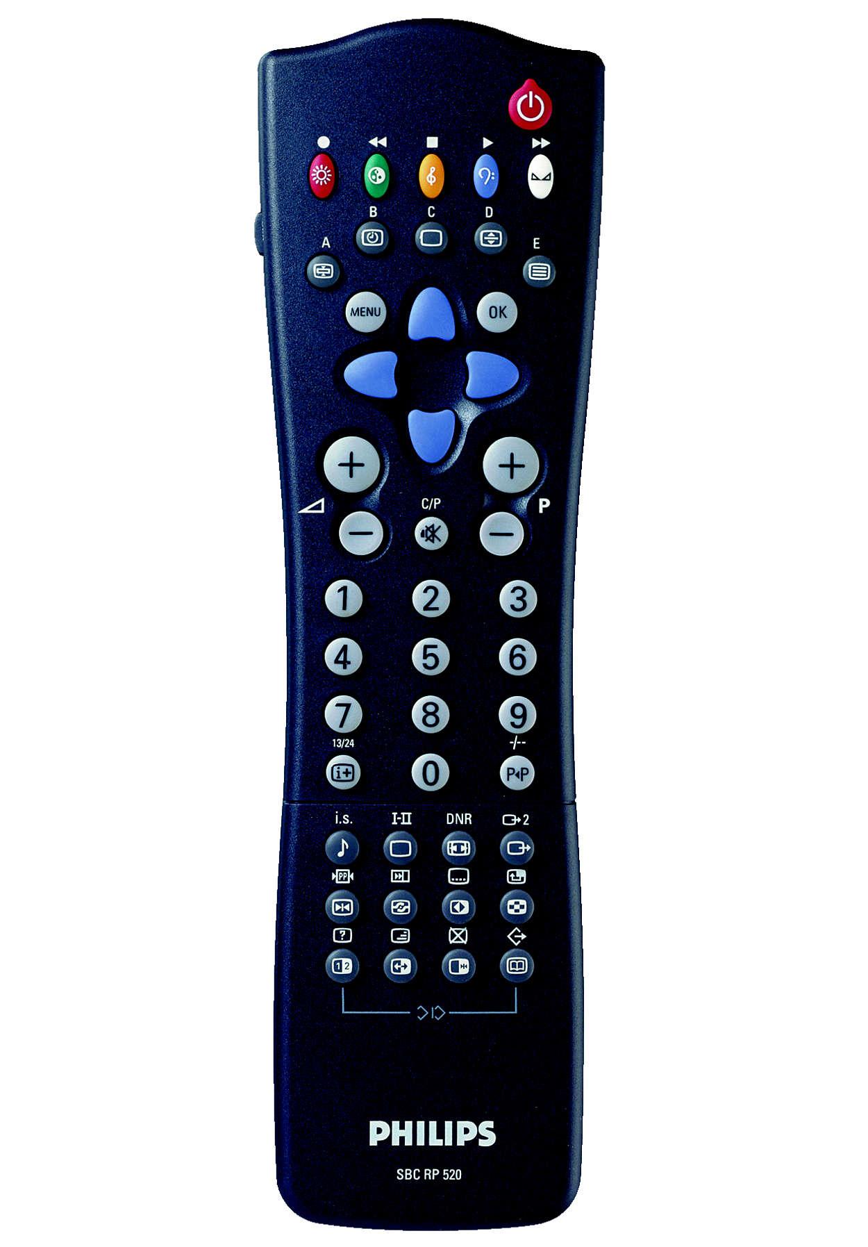 Assicura le stesse funzioni del telecomando originale