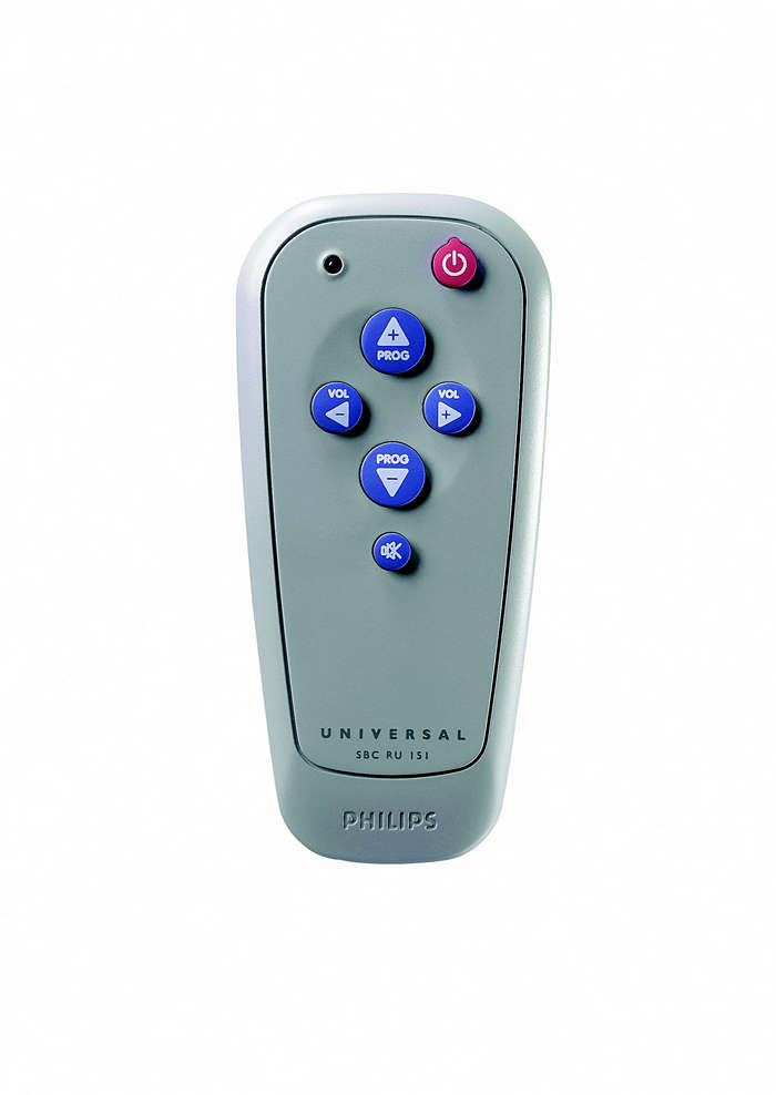 Universele afstandsbediening SBCRU151/00S | Philips