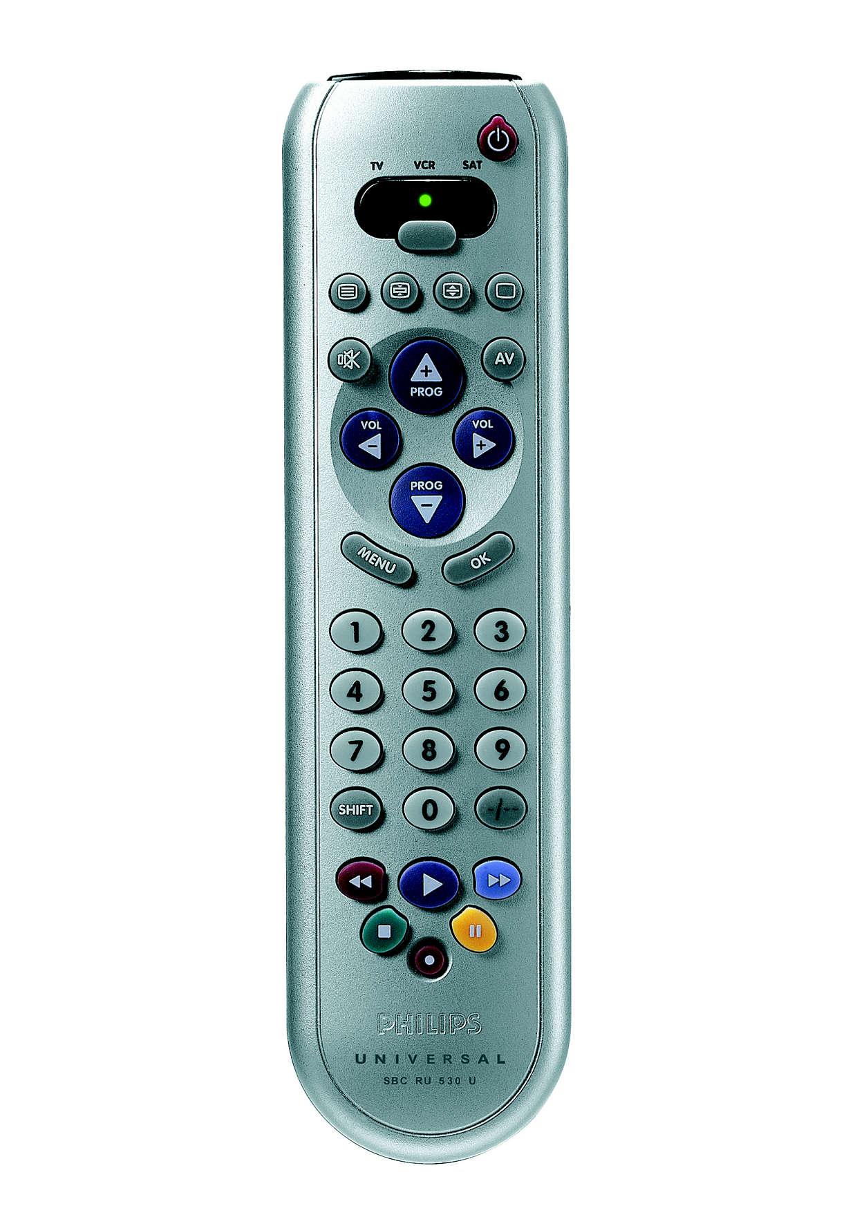 Universal remote control SBCRU530/00U | Philips