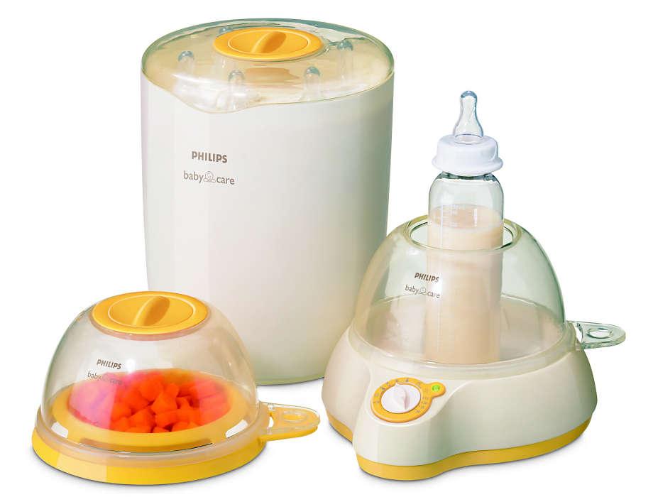 Gezonde voeding voor baby's en peuters