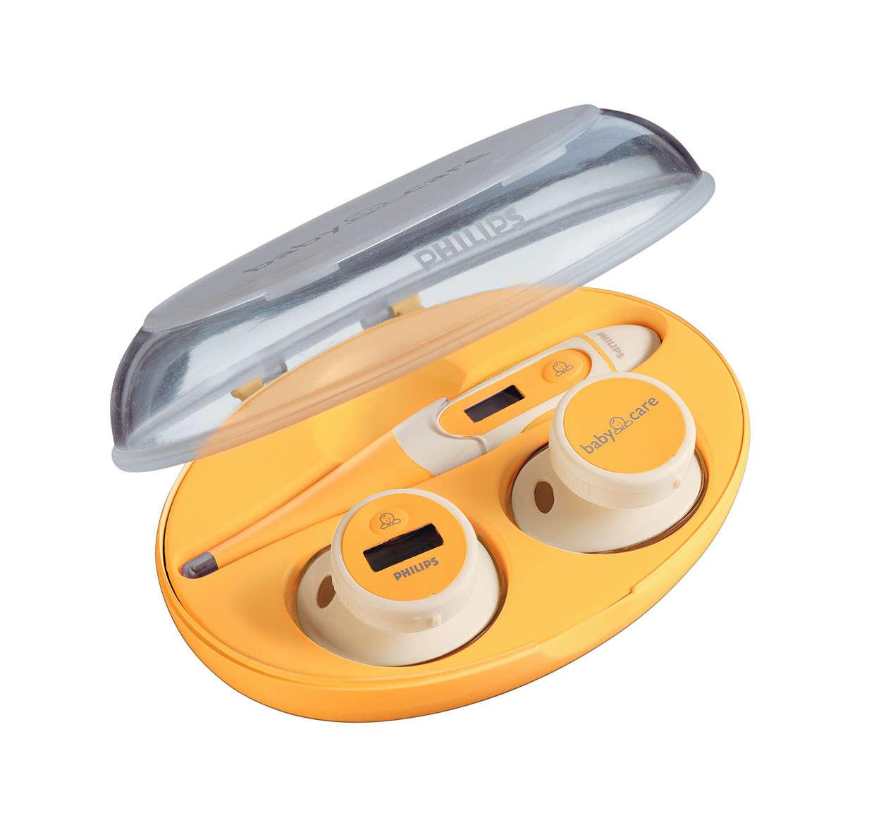 Măsurarea facilă şi sigură a temperaturii