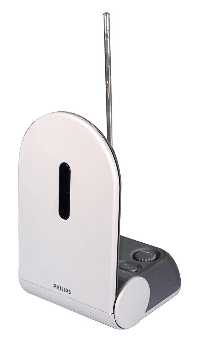 Přijímejte analogový a digitální televizní signál