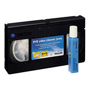 VHS-nauhurin puhdistin