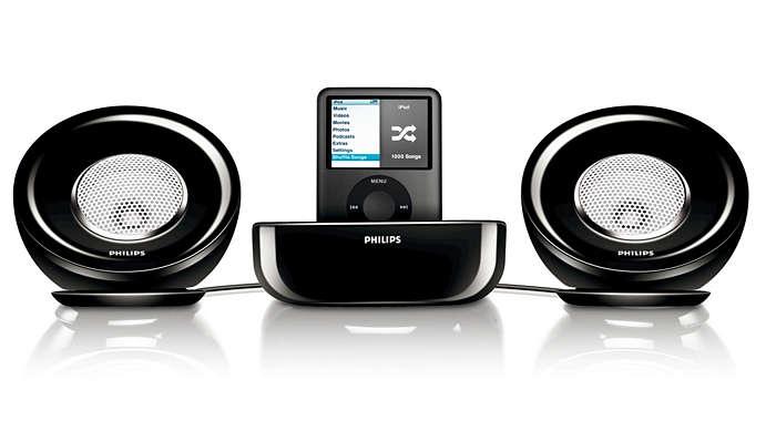 Potente ambiente audio stereo