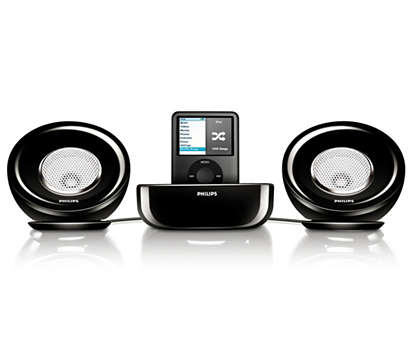 Powerful stereo sound stage